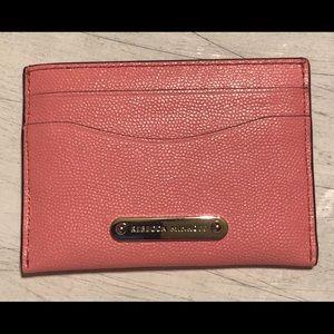 Rebecca Minkoff Pink Card Case NEW Retail $50